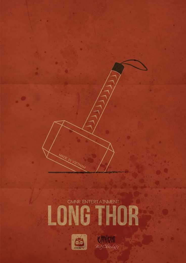 Long Thor - CMNR Avenger Poster - Design by BotChocolate
