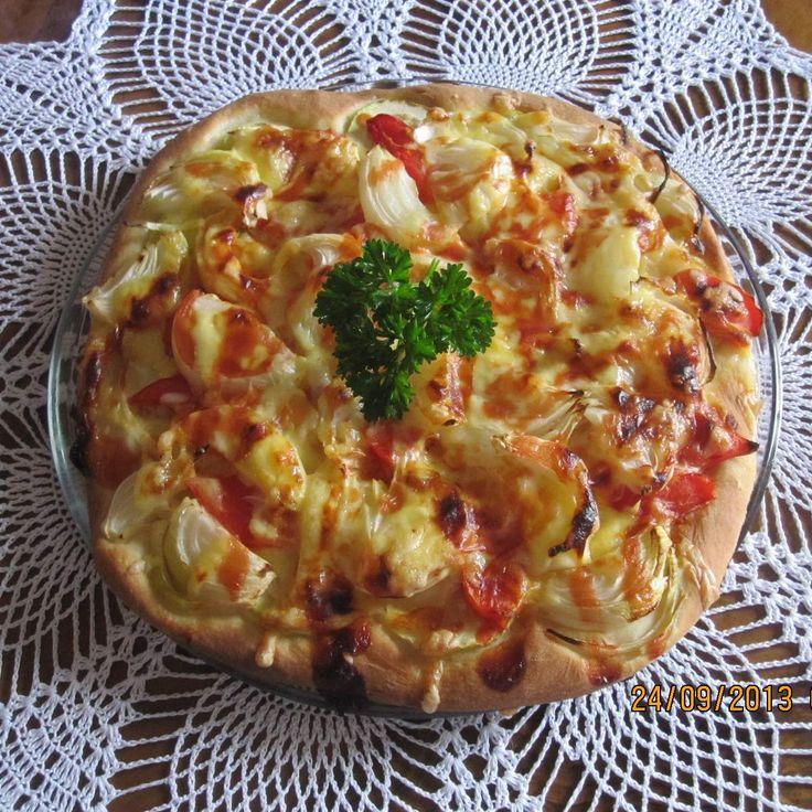 Recept Pizza od Jaroslava Fortelkova - Recept z kategorie Hlavní jídla - ostatní