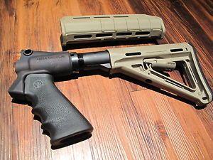 Mesa Tactical & Magpul Kit Remington 870 Tan Pistol Grip 6 ...