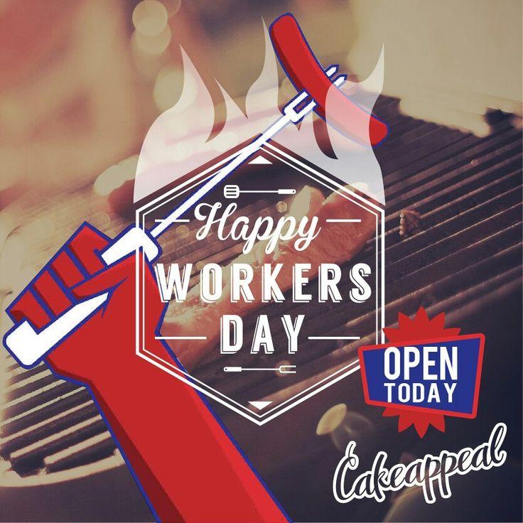Let's celebrate the #work of our hands! Celebriamo il #lavoro delle nostre mani!  Buon #PrimoMaggio!  Buona festa dei Lavoratori da #CakeAppeal!  Oggi siamo #aperti: festeggiate con noi! <3  #Respect #WorldWishDay #Roma #1maggio #25volte1maggio #concertoprimomaggio #solidarietà #funweek  #Expo2015 #Workersday #Laborday #LabourDay #1stMay