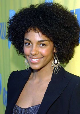 Actress, Natural-hair Cutie Marsha Thomason