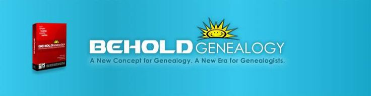 Behold Genealogy Software #gentipjar #genealogy #software