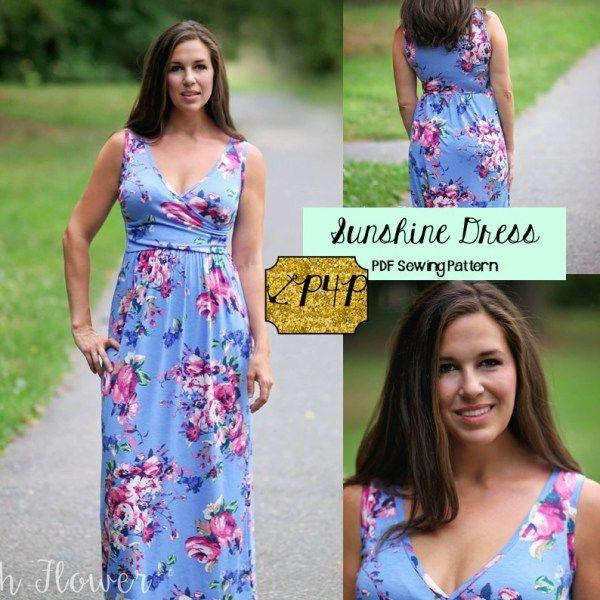 Sunshine Dress PDF pattern - from Patterns for Pirates