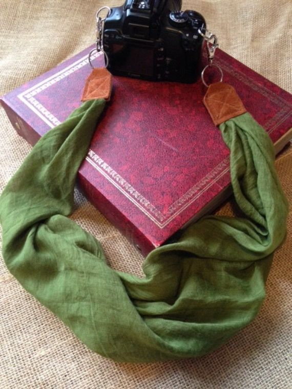 Liberty Scarf Camera Strap; New; Classic /& Comfortable; On-Trend Style; Makes The for Any Photographer
