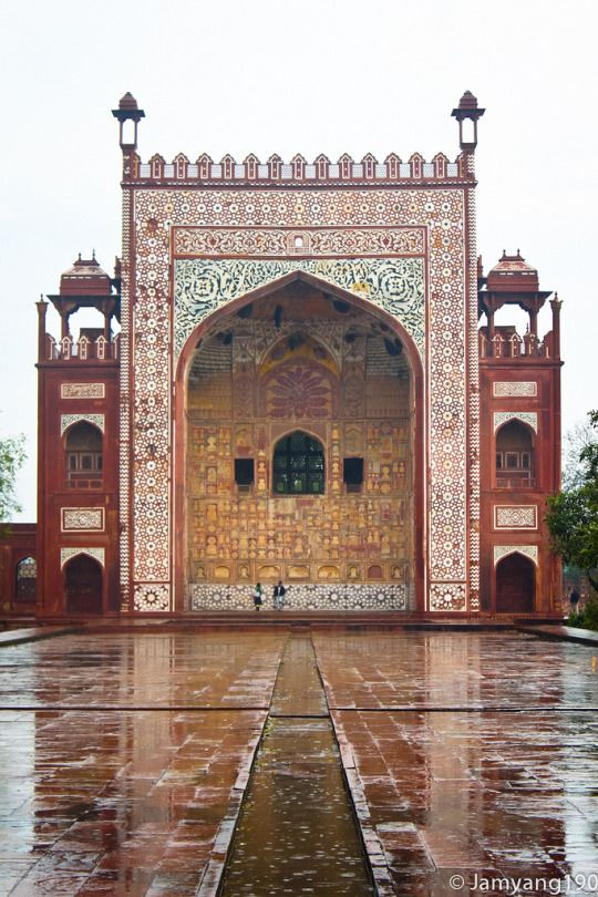 Tomb of Akbar the Great, Agra, Uttar Pradesh, India by jamyang190