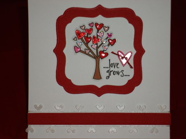 The purple paper puncher: Love grows on trees