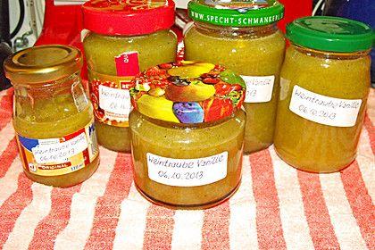 Weintrauben - Vanille - Gelee (Rezept mit Bild) von Nimrodel | Chefkoch.de