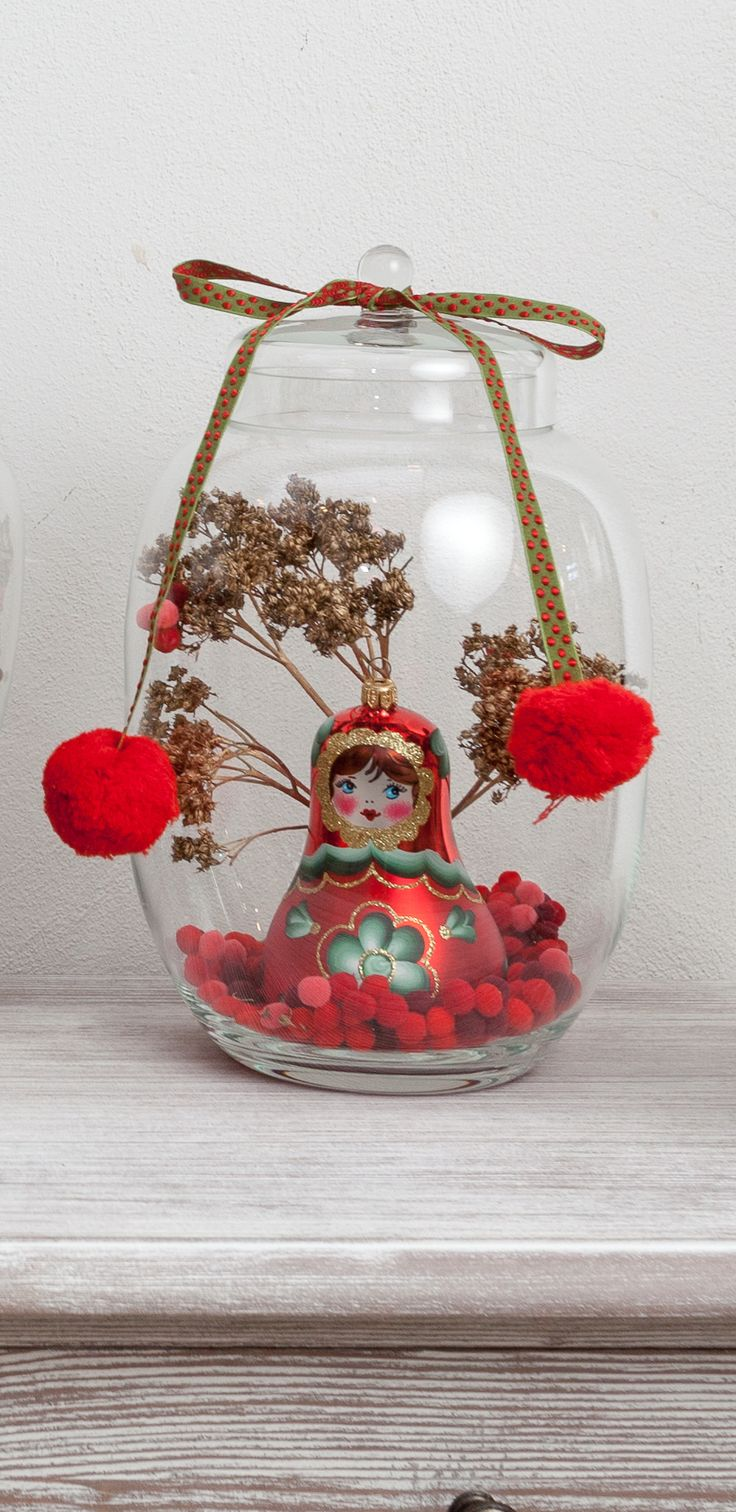 Only for you, unique pom-poms and crystalized decorations