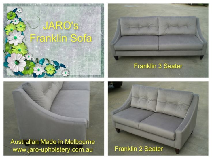 The Franklin is an Australian Made Sofa built with nothing but the best materials. Built to Last! - JARO UPHOLSTERY, Melbourne, Phillip Island, SE Melbourne, Pakenham & Gippsland