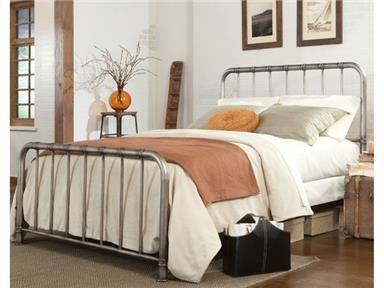 Shop+for+Standard+Furniture+Metal+Headboard+and+Footboard,+4/6,+87511,+and+other+Youth+Bedroom+Beds+at+New+Ulm+Furniture+Co+in+New+Ulm,+MN.+The+versatile+transitional+styling+of+tristen+assures+it+will+be+the+perfect+accent+bed+for+any+space.