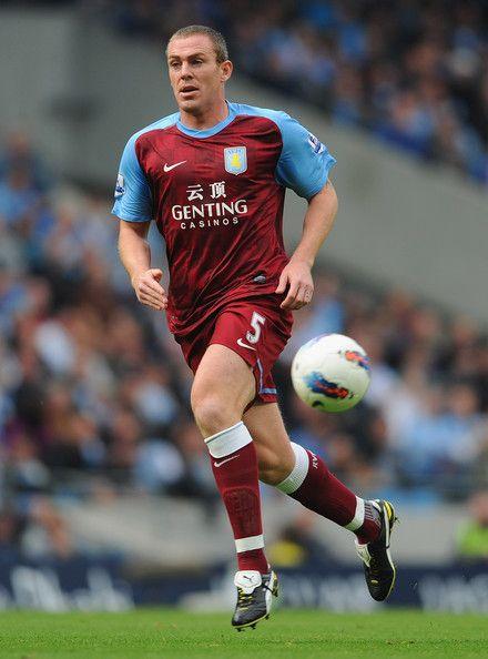 Richard Dunne of Aston Villa in 2011.