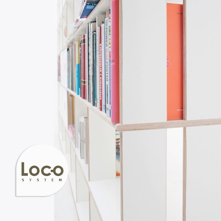 A system of stable bookcases with the possibility of freely adjusting the shelves vertically and horizontally. Nine different shapes of shelves – straight, arches, waves, corners – provide an unlimited freedom of arrangements of appartment, office, or library spaces. #modularMebels #modules #modularDesign #innovativeFurniture