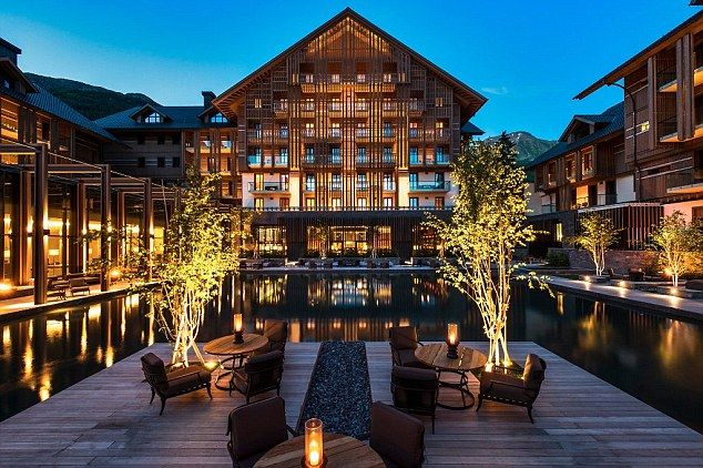 Swish: Five-star Chedi hotel in Andermatt has a fireplace in every suite