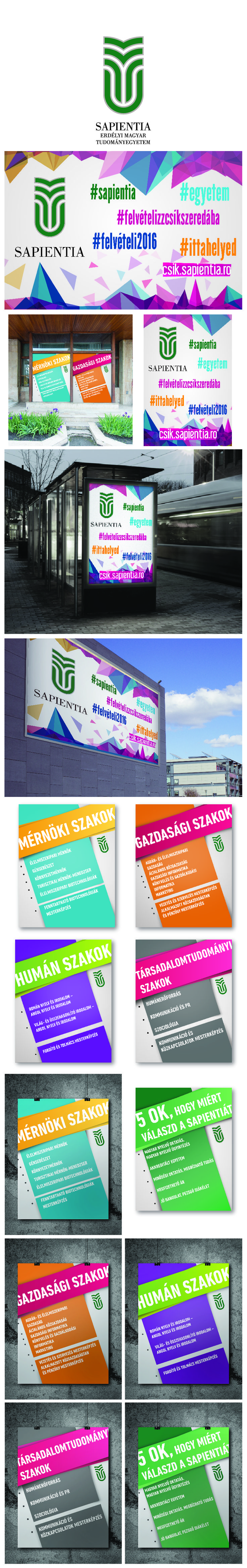Campaign design for Sapientia Hungarian University of Transylvania