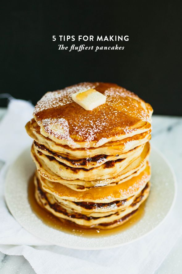 Terrific pancake tips on @sayyesblog . (A little vanilla...mmmm)