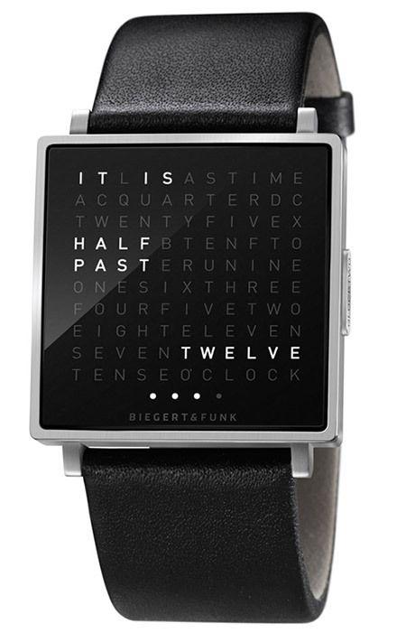 글자로 시간을 나타내는 시계, The QLOCKTWO - Times in word.