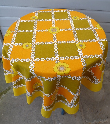1960s tablecloth