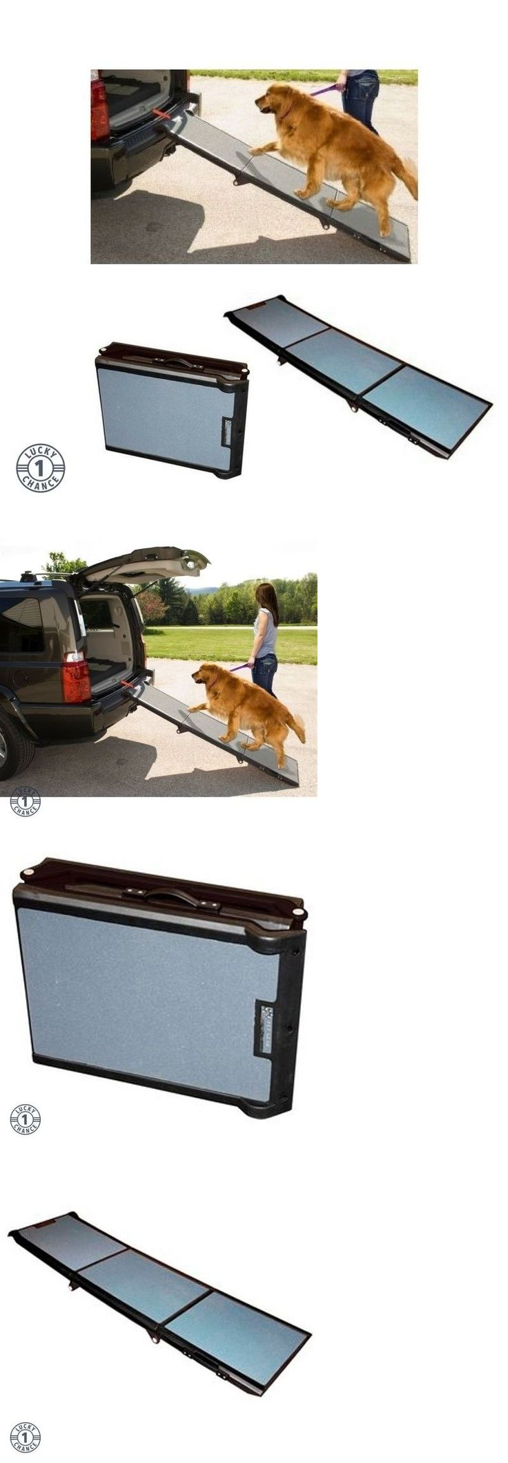 Ramps and Stairs 116389: Pet Ramps For Large Dogs Car Ramp Dog Suv Travel Portable Trifold Extra Wide New -> BUY IT NOW ONLY: $113 on eBay!