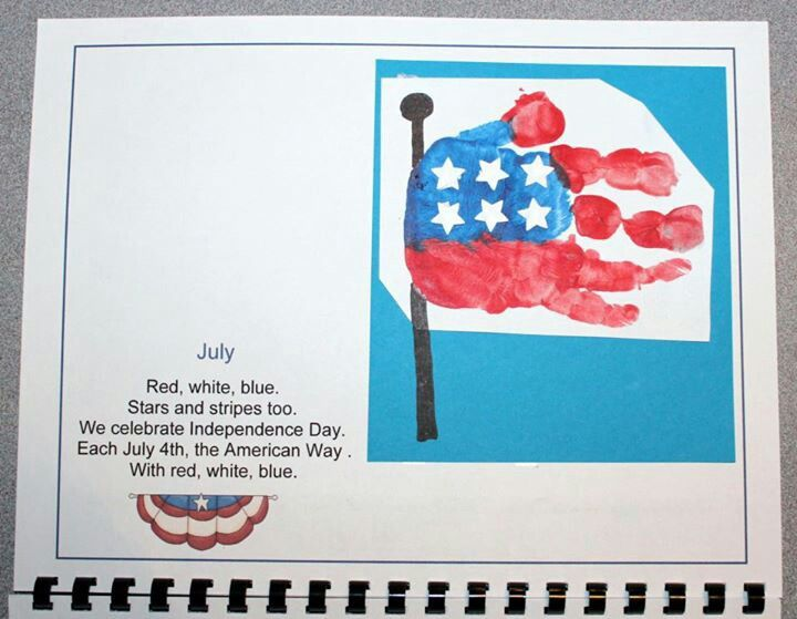 Calendar Handprint Art : Best handprint and footprint calendar images on