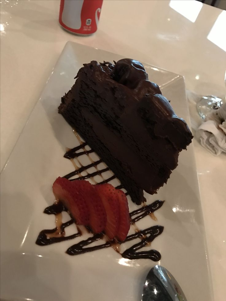 Chocolate cake at bodegar, guaynabo PR