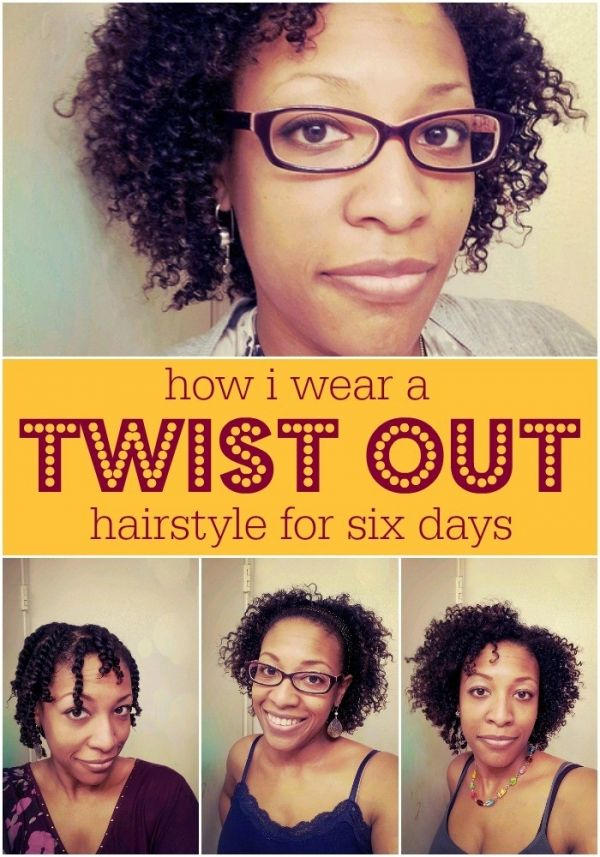 How I wear a twist out hairstyle for almost a week. I also share my recipe for my homemade moisturizer using essential oils. | Lucrecer.com