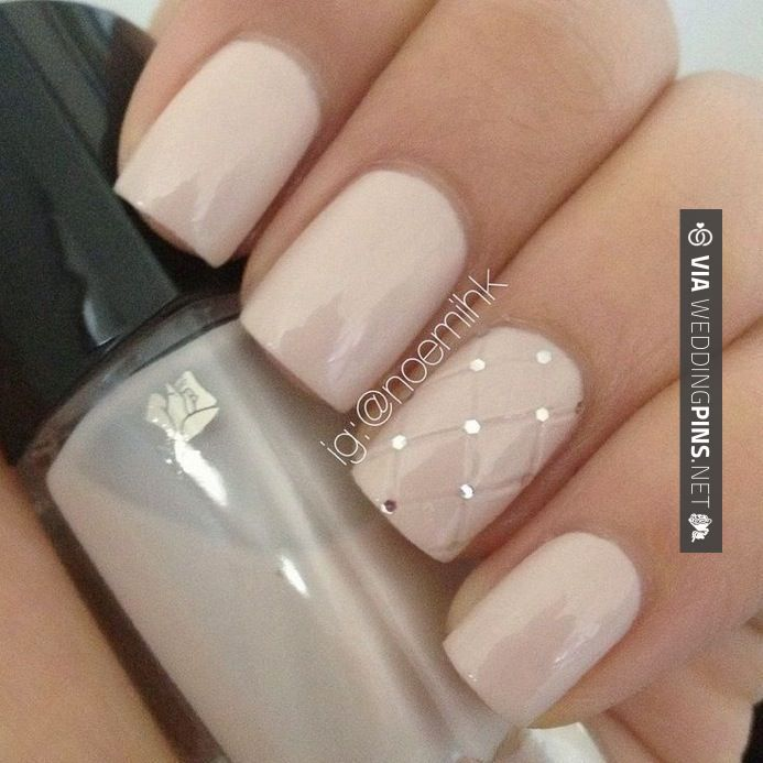 Nice! - Wedding Nails 2015 - PHOTOS: 25 Gorgeous Bridal Manicures from Pinterest | Philadelphia Wedding | CHECK OUT MORE COOL IDEAS FOR GREAT Wedding Nails 2015 AT WEDDINGPINS.NET | #weddingnails2015 #weddingnails #nails #boda #weddings #weddinginvitations #vows #tradition #nontraditional #events #forweddings #iloveweddings #romance #beauty #planners #fashion #weddingphotos #weddingpictures