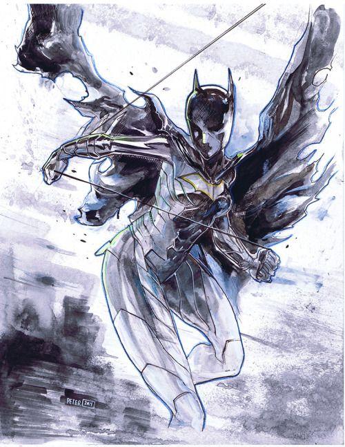 Cassandra Cain Batgirl - Peter V Nguyen