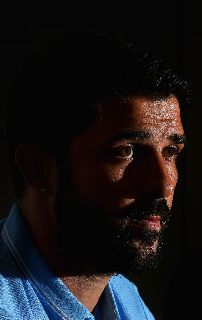 David Villa Photos: Melbourne City FC Press Conference
