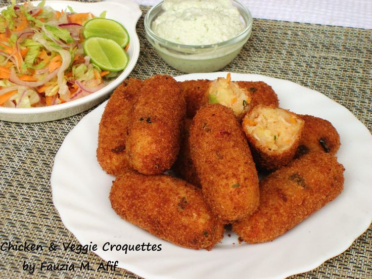 Chicken   Veggie Croquettes   Fauzia s Kitchen Fun26 best fauzia s kitchen fun recipes images on Pinterest   Fun  . Fauzia Kitchen Fun Chicken Soup. Home Design Ideas
