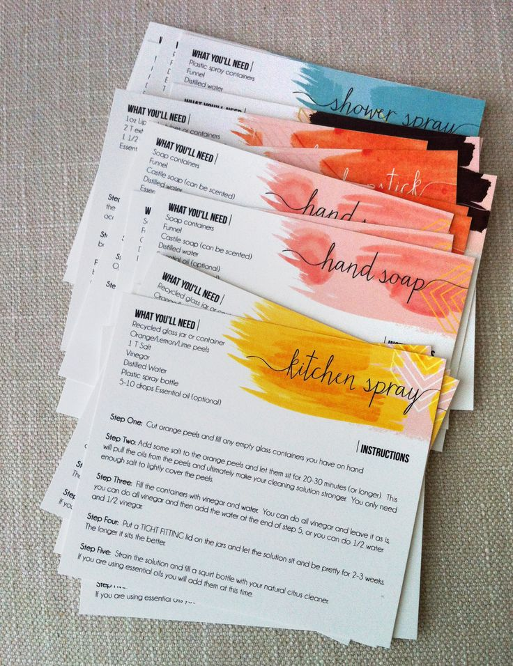 DIYproduct-recipe-cards