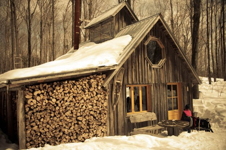"""Cabane a Sucre"" ... Maple syrup season in cottage country, Quebec"