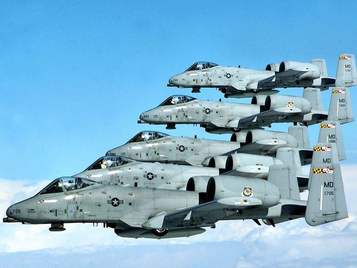 The A-10 is more commonly known as the