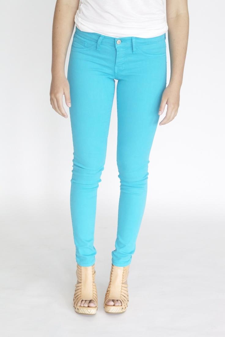 Flying Monkey Jeans (3, Turquoise)