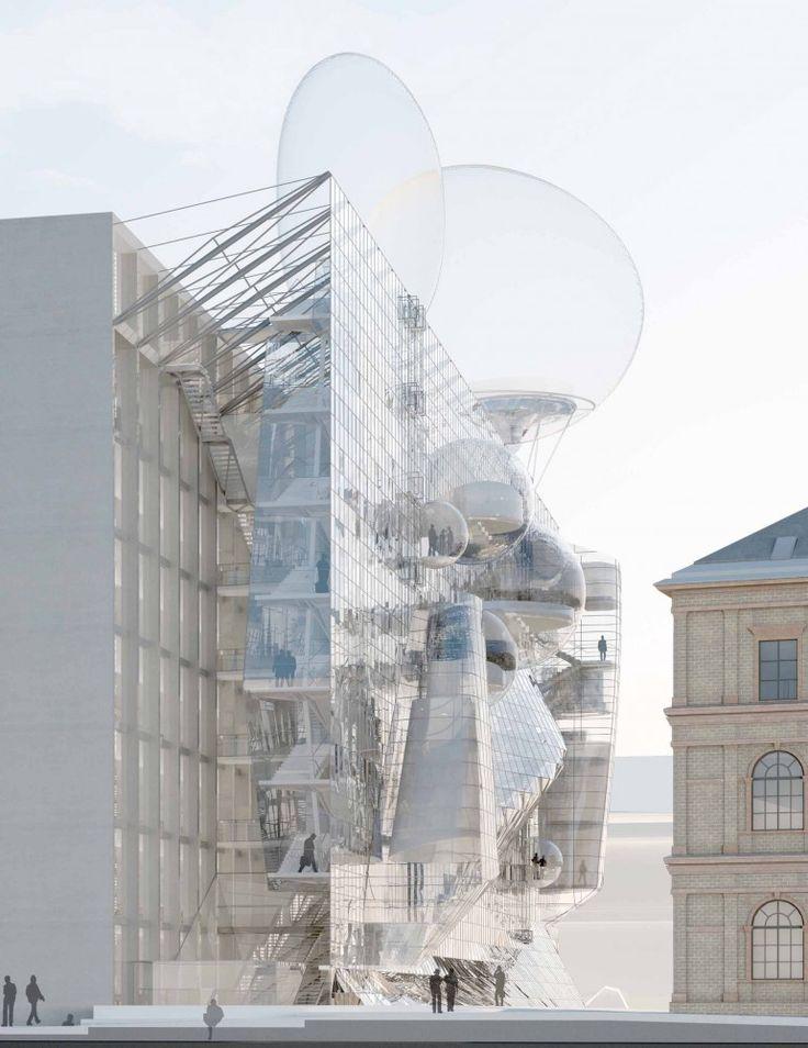 University of Applied Arts Extension Proposal / Wolfgang Tschapeller