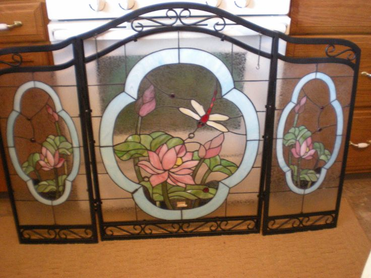 leaded glass fireplace screens. Aleta s Garage  Fireplace ScreensStained Glass 70 best Stained Screens images on Pinterest