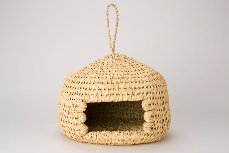 Matsumoto Tsugura (Handcrafted cat bed made with dried straw) | The Wonder 500™|A collection of Japan's Finest Goods, Foods and Travel Experiences