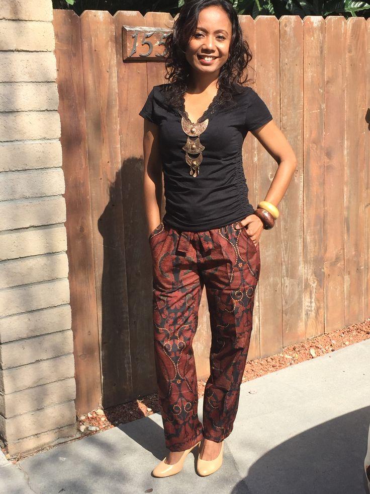 love this batik pants