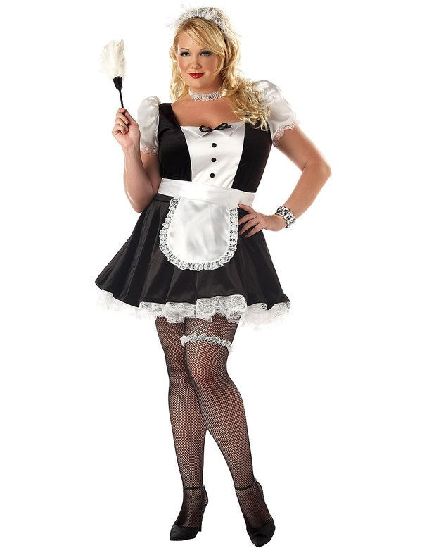 French Maid Outfit (Plus Size) Halloween costume