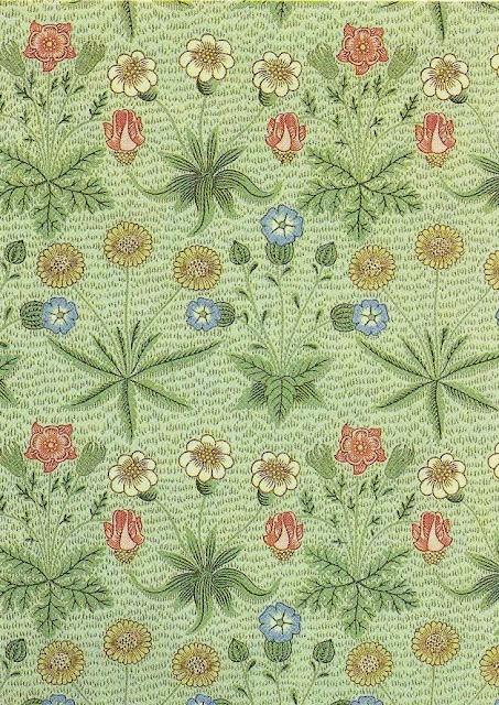 """Daisy wallpaper"", William Morris, 1864 Vintage"