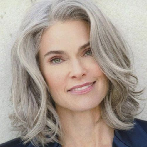 Pin by Mary Clarke on Silver hair  50 hair Hair styles for women over 50 Hair styles