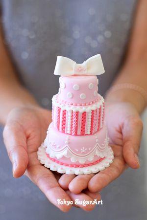 mini gâteau de marriage / mini wedding cake
