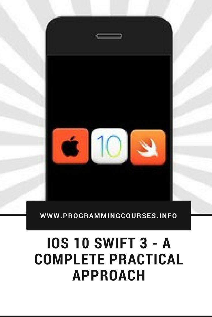 iOS 10 Swift 3 - A Complete Practical Approach #mobileappdevelopment #swift3