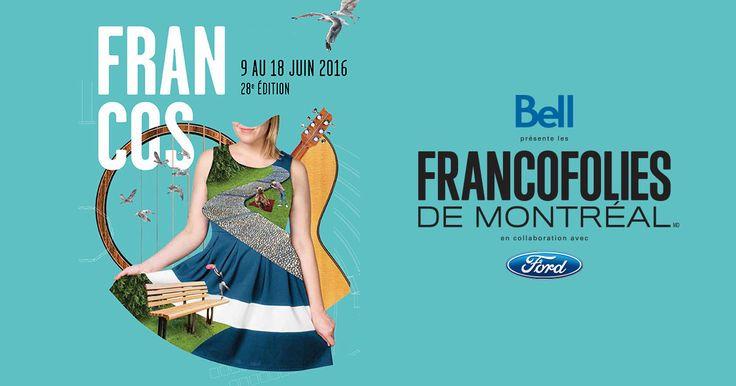 Concerts gratuits du 9 juin 2016 - Les FrancoFolies de Montréal