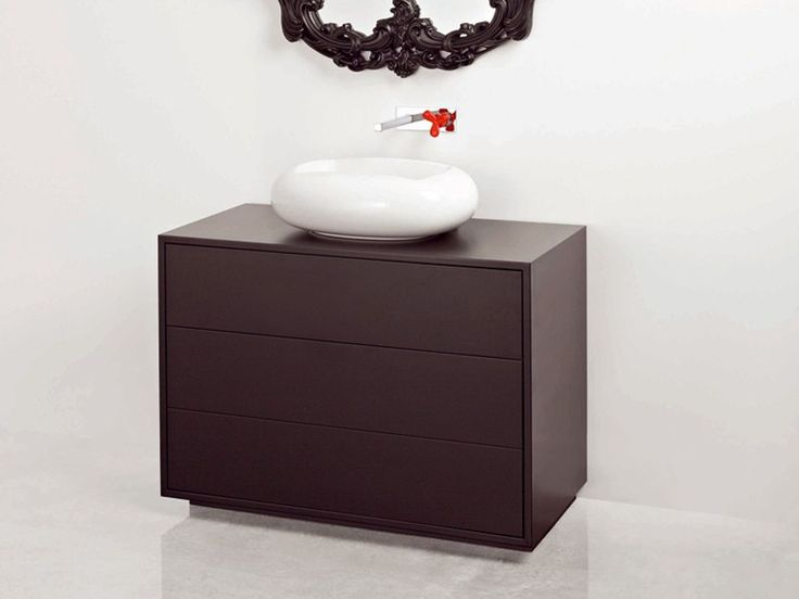 ARCHITECTURAL Mobile lavabo by BISAZZA Bagno design Marcel Wanders