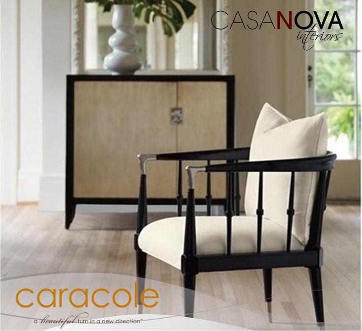 !Muebles de líneas perfectas y la mejor calidad...! #Caracole #Calidad #BlancoYNegro