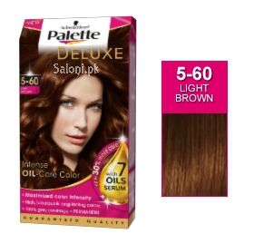 schwarzkopf palette deluxe intensive oil care color light brown 5 60 - Coloration 60