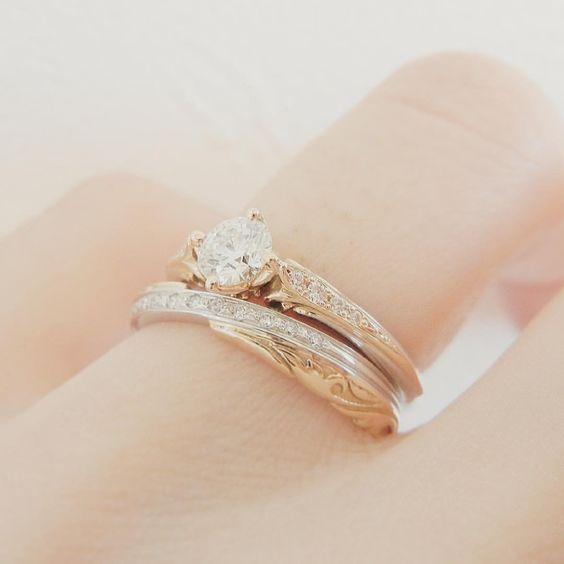 エンゲージリング:ポン・ヌフ マリッジリング: キャナル・サン・マルタン . #ポンヌフ花嫁 #lapageポンヌフ 、 、、 、、 、 #マリッジリング#結婚指輪 #エンゲージリング#婚約指輪 #結婚準備#リングピロー#ジャイアントフラワー#ウエディングドレス#カラードレス#婚約#結納#顔合わせ#婚姻届#結婚#プレ花嫁#招待状#ウェルカムボード #結婚式準備#リゾート婚 #プロポーズ#サプライズ #wedding#ウエディング #LAPAGE#ラパージュ #日本中のプレ花嫁さんと繋がりたい #ゼクシィ#2017春婚
