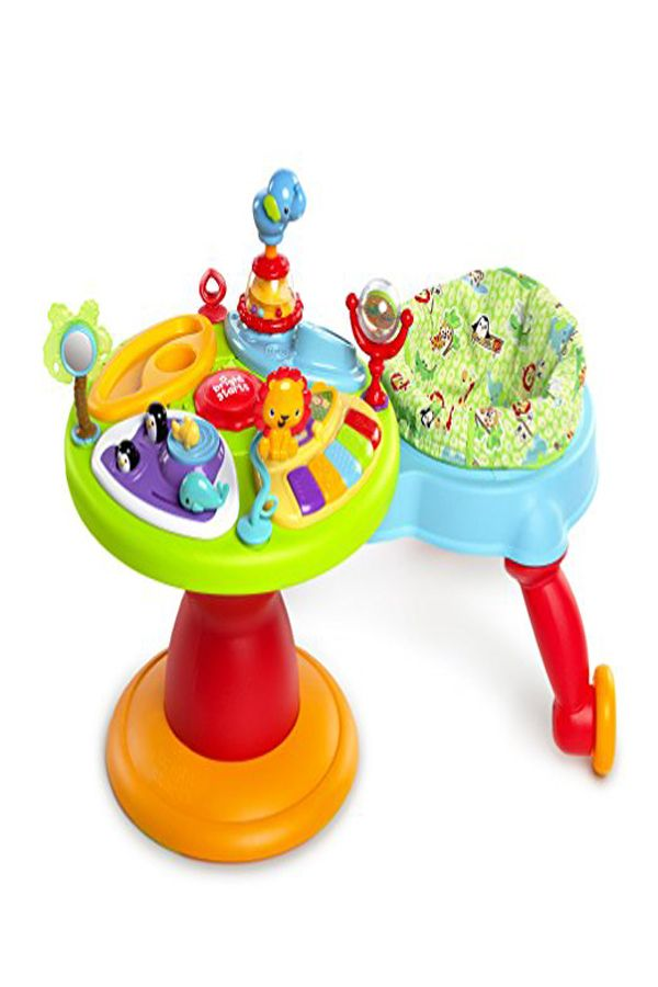 133433ec0c57 Bright Starts Around We Go 3-in-1 Activity Center Zippity Zoo