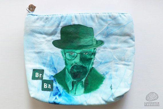 Heisenberg from Breaking Bad Small Bag, Pouch, Case, Handbag