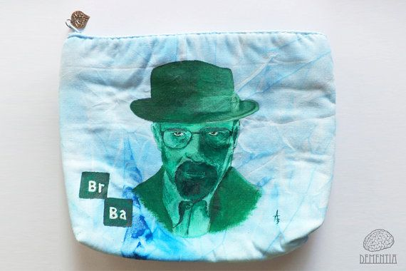 Heisenberg from Breaking Bad Small Bag, Pouch, Case, Handbag